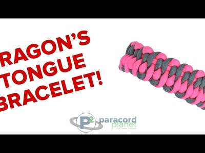 How to Make a Dragon's Tongue Paracord Bracelet - Paracord Planet Tutorial