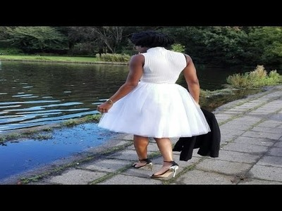 How to make a Tulle tutu skirt (DIY)