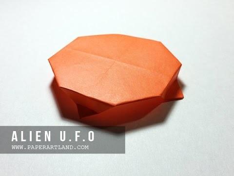 How to Make an Origami Airplane - Avión de Papel | Alien U.F.O ( Flyable )
