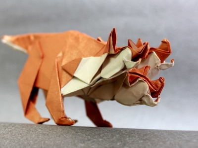 How to make an origami Cerberus (Henry Phạm)