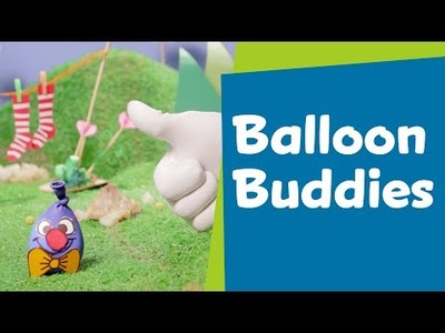 How to Make Balloon Buddies | DIY Crafts for Kids | SuperHands: Ep 08