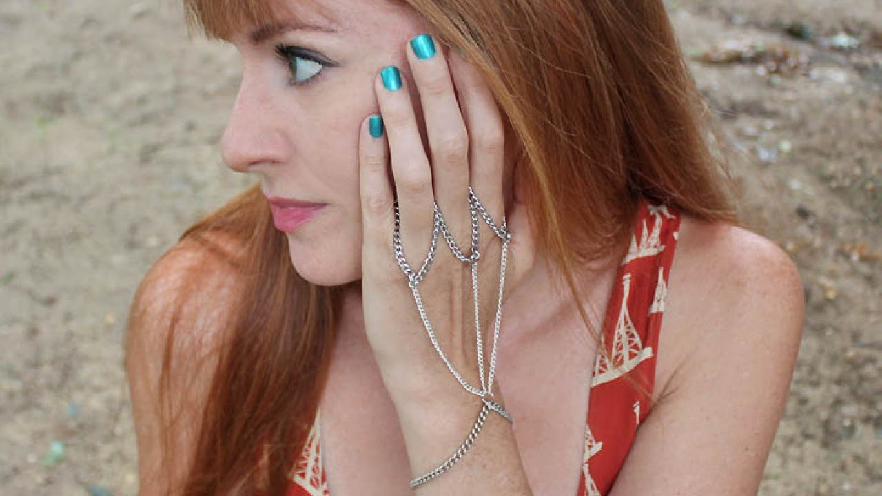 Make a Delicate Chain Handpiece - DIY Style - Guidecentral