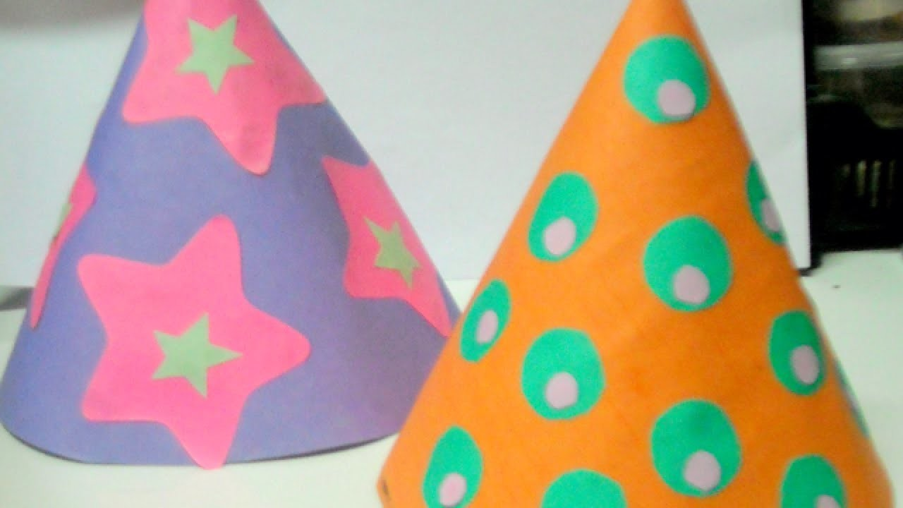 Make Fun Kids Party Hats - DIY Home - Guidecentral