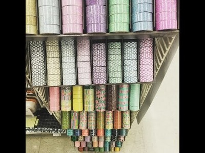 Michaels Craft Store MINI Haul | WASHI | Clearance | Sale