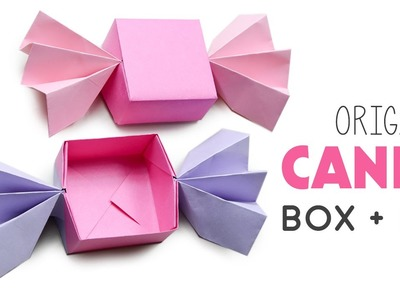 Origami Candy Box + Lid