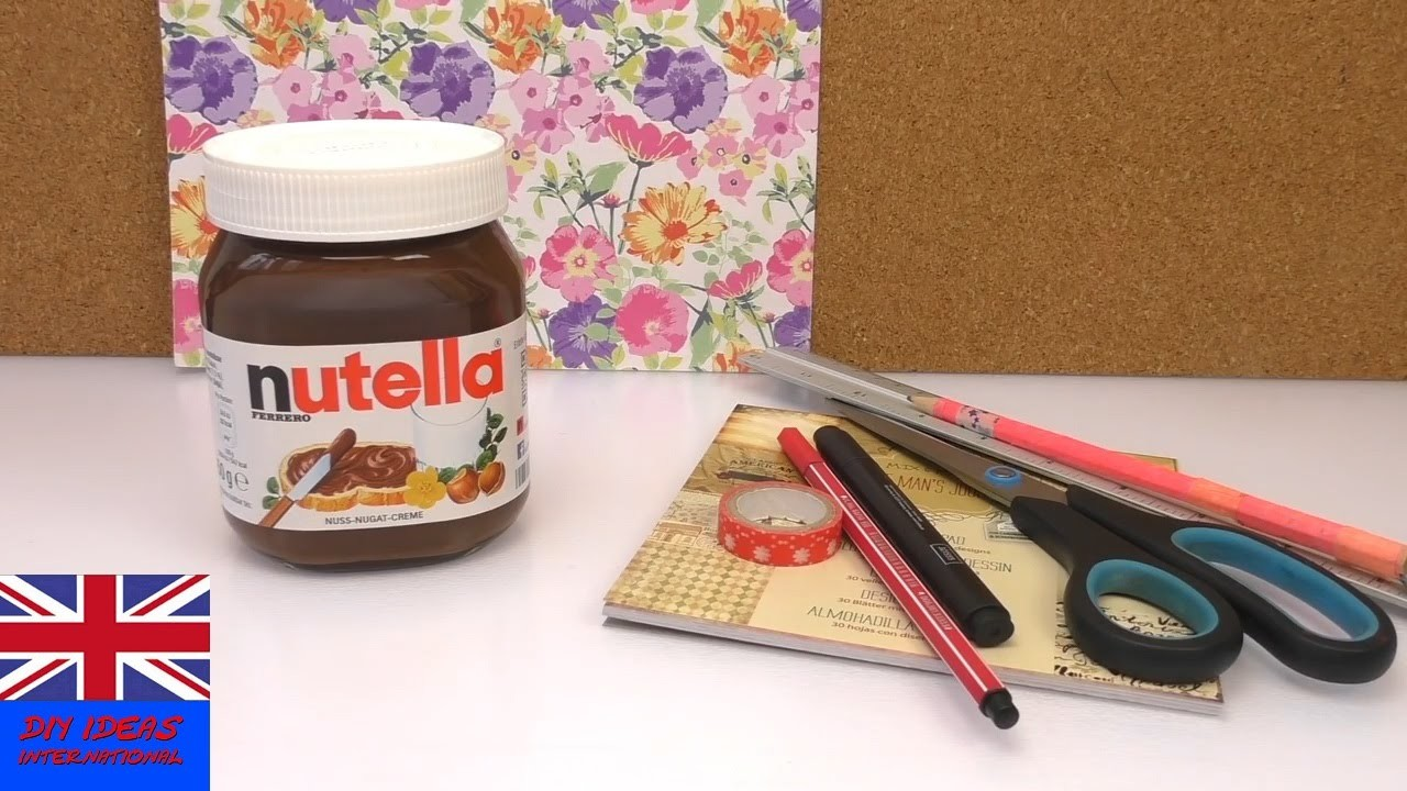 Personalized Gift Ideas: Personal Nutella Jar | Treat your best friend to a surprise!