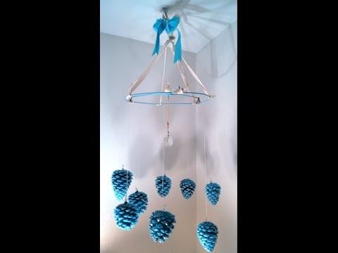 Pine Cone Chandelier craft art