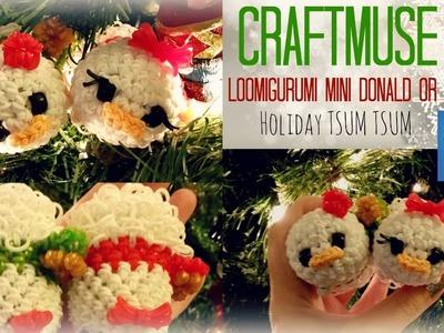 Rainbow Loom Donald and Daisy Holiday Mini TSUM TSUM