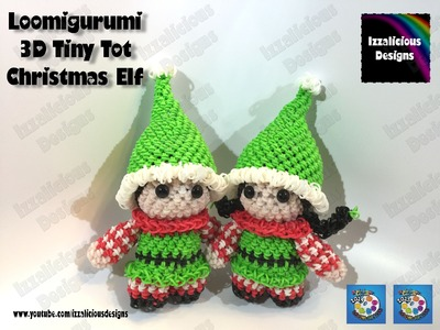 Rainbow Loom Elf | Rainbow Loom Loomigurumi Elf | Loomigurumi Elf Tiny Tot Christmas Figure