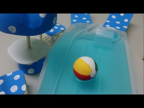 Recycle Project Ideas: Making a Pool Deck out of Plastic Bottles