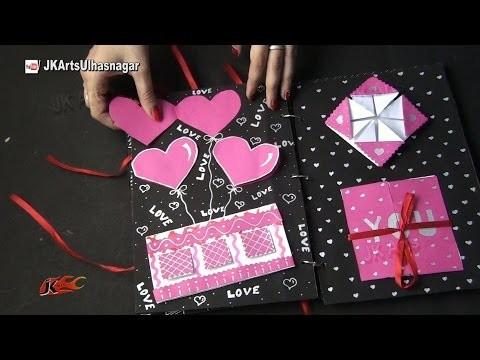 Scrapbook Idea | JK Craft Idea 011