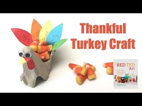 Thanksgiving Turkey Craft (and Turkey Treat Box) - Collab with The Purple Alphabet