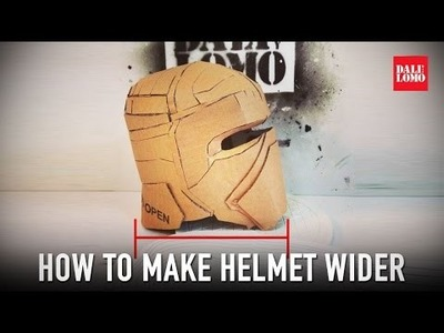 Tips: How to Fix Cardboard Helmet - Add Depth | Dali DIY
