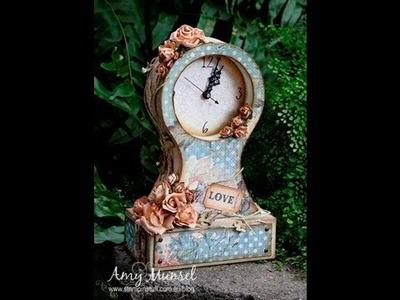 Vintage Mantle Clock Tutorial - Part 1 of 3