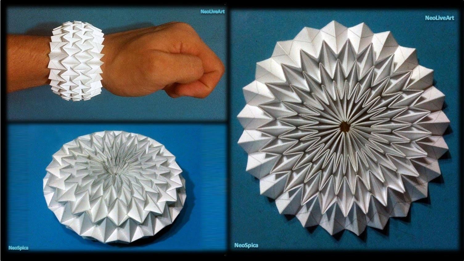 WaterBomb Origami Bracelet. Ball