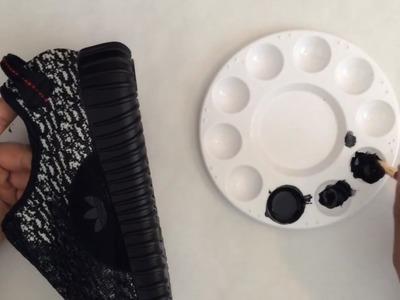 Yeezy 350 Boost Custom   Custom Sneakers #11   DIY
