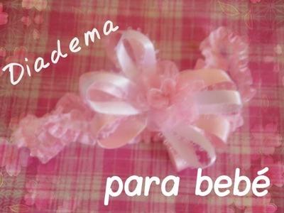 Diadema para bebé DIY