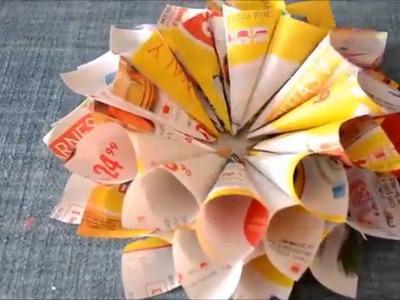 DIY - Flor de papel | CcoriStudio