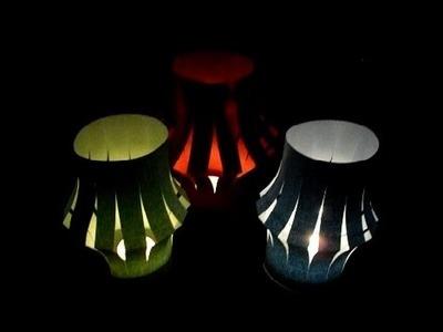 DIY Tischlaterne basteln | making a table lanterne