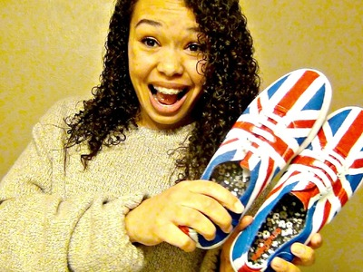 DIY - Union Jack Shoes