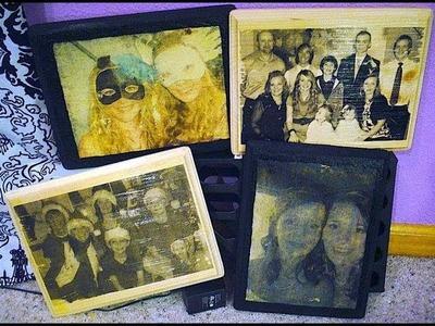 DIY: Wood Picture Frames