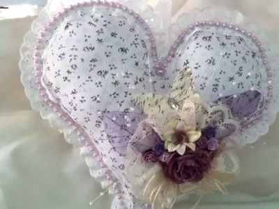 No Sew Heart Pillow