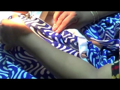 Piping Tutorial For Sleeves and Sides of the Kurti
