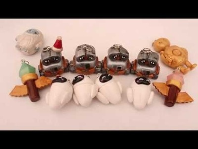 Polymer Clay: Wall-E & Eve, Yeti & Blitzcrank