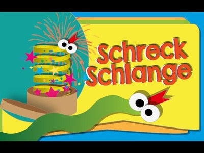 Scherzartikel DIY: Schreckschlange- Tobilotta Serie 1.10