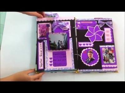 SCRAPBOOK | DIY | HANDMADE | album handmade | chúc mừng sinh nhật (BY HANLA)
