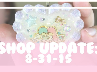 SHOP UPDATE - Resin Necklaces 8-31-15