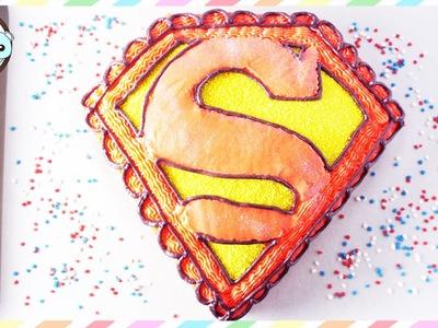 SUPERMAN CAKE, SUPERMAN CUPCAKES - SUGARCODER
