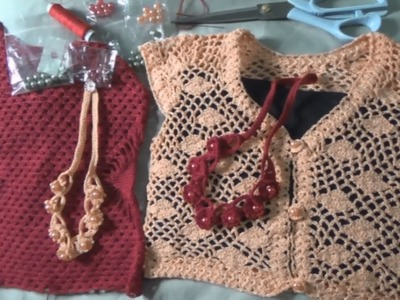 Collar De Perlas En Crochet