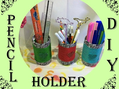 ✏️✒ DIY- PEN. PENCIL. STATIONERY Holder- RECYCLE BOTTLES ✏️✒