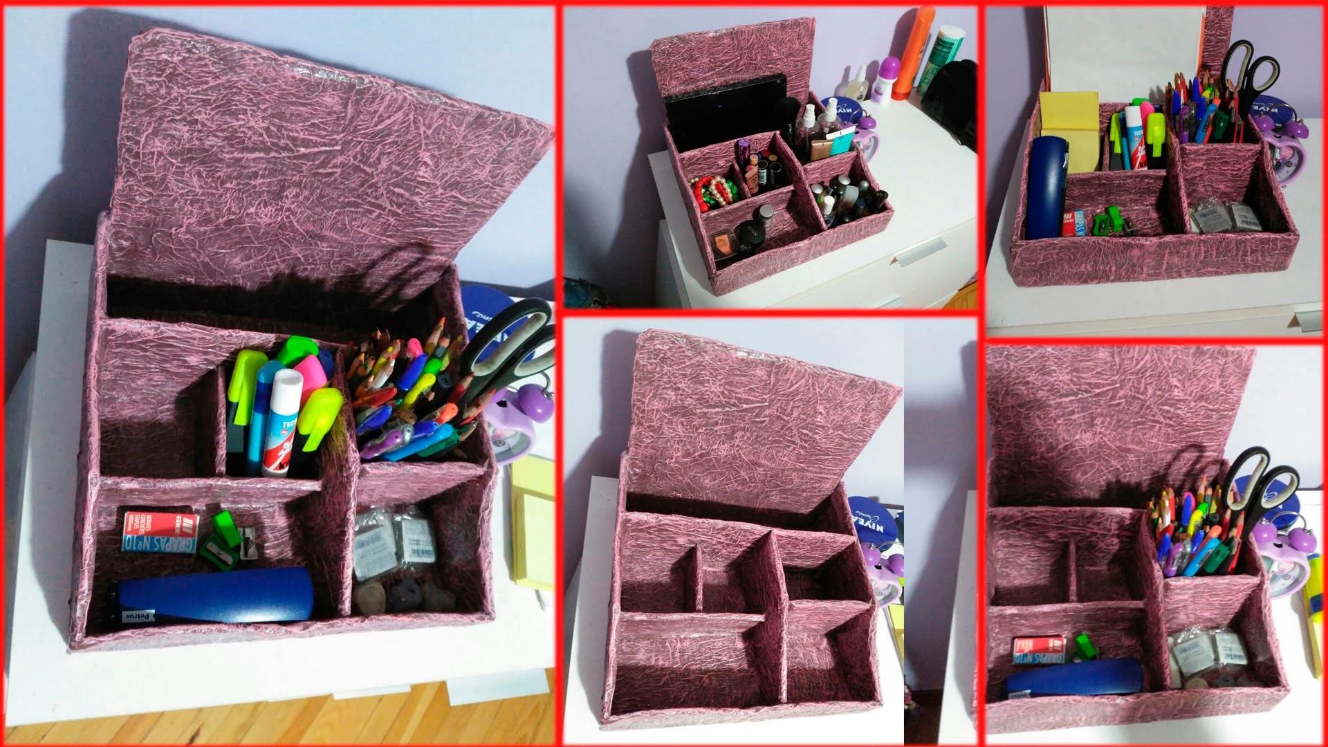Organizador carton y papel cardboard paper organizer - Organizador de papeles ...