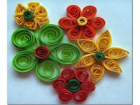 Paper quilling designs history of paper quilling my for Quilling patterns for beginners