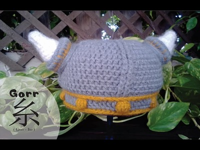 Viking Crochet Hat Base (Part 1)