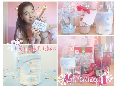 ❄︎DIY Holiday Gift Ideas & GIVEAWAY❄︎ CLOSED