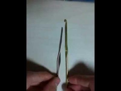 Raimbow Loom: Uncinetto di ferro VS plastica