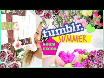 DIY TUMBLR SUMMER ROOM DECOR + ROOM INSPIRATON I maikekrombach