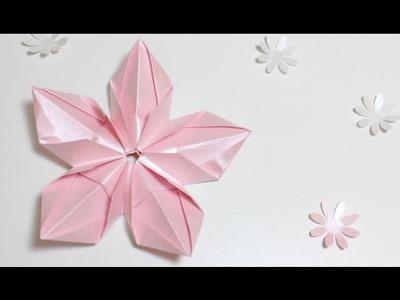 Origami Tutorial: Flor Modular | Modular Flower