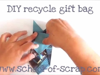 Pacchetto origami - recycle gift or favor bag