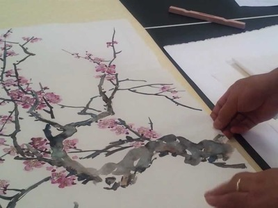 A Thicker Version of Sized Xuan or Shuo Xuan Rice Paper for Gongbi Style Chinese Watercolor Painting