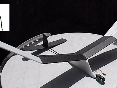 Another Polystyrene Pizza Tray Aircraft - part #2