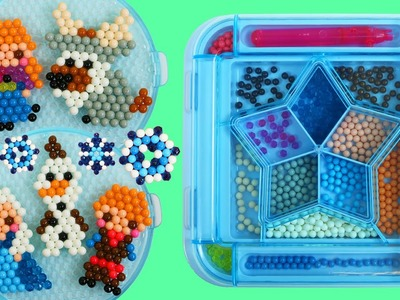 AquaBeads Disney Frozen Characters Playset Easy Make Queen Elsa Princess Anna Olaf  Kristoff & Sven!