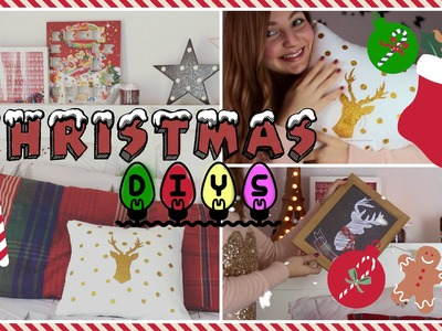DIY Christmas ROOM DECOR!! || Gemminamakeup