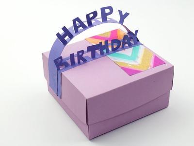 DIY Happy Birthday Gift Box