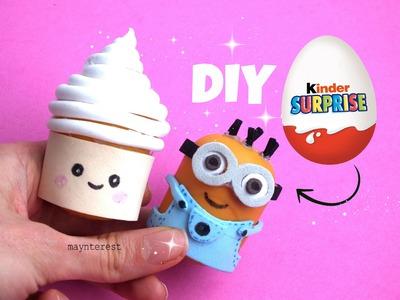 DIY PENCIL SHARPENER with Kinder Surprise Eggs