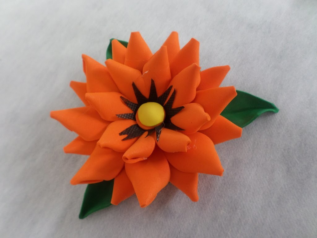 Flor Semi Modelada