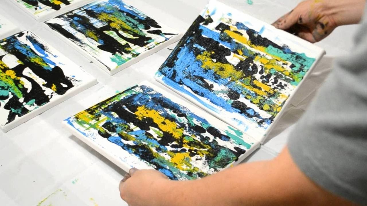 How to Create Abstract Painting Backgrounds - Part 2